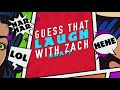 Фрагмент с начала видео - Guess That Laugh With Zach Braff (GAME)
