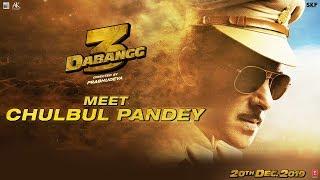 Dabangg 3: Meet Chulbul Pandey