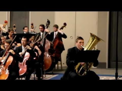 John DiCesare - Tuba YTSO 2011 - Introduction Video