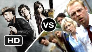 Zombieland vs Shaun of the Dead - Which is the Funnier Zombie Movie? - HD
