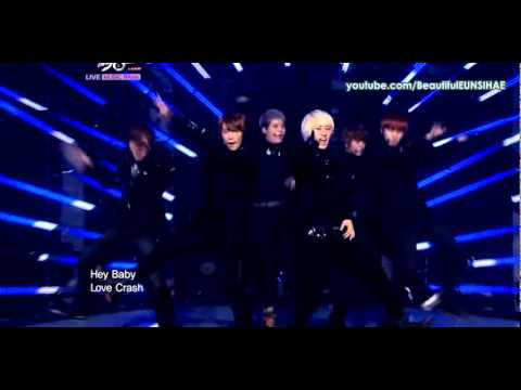 (MR Removed) Super Junior - A-CHA (1st comeback stage)
