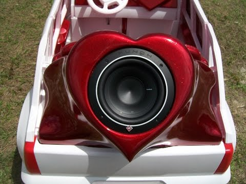 Vulgar Display Of Power Wheels Custom Heart Attack Escalade part 2