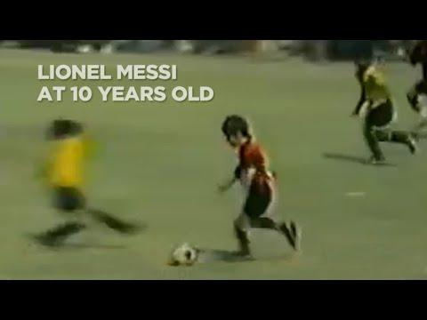 Messi a los 10 años