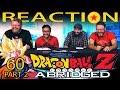TFS Dragon Ball Z Abridged REACTION!! Episode 60 - Part 2