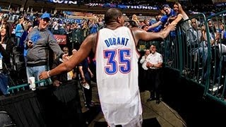 NBA Play Of The Week: Kevin Durant Going To Work!