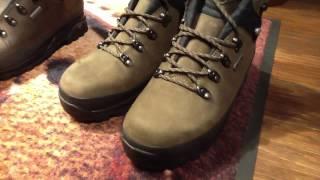 ヌバック レザー 登山靴 WAX仕上げ3回塗り加工