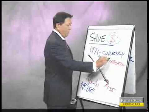 Robert Kiyosaki rich dad invest in gold , Why Savers Are Losers in This Economy,