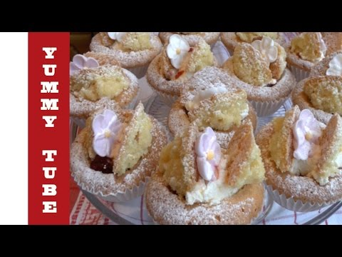Butterfly Cakes Recipe quick and easy to make for the kids. Cooking Channel