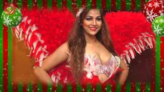 Tanisha Singh hot Christmas photoshoot