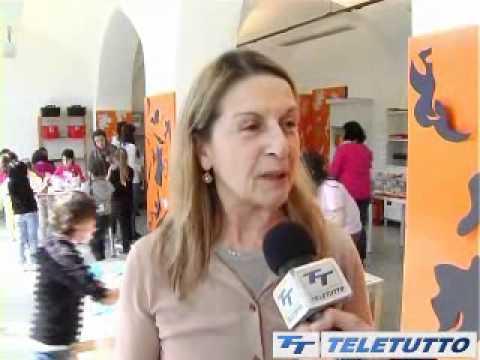 Mostra MATISSE - servizio TG Teletutto - i laboratori didattici