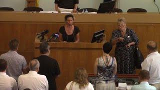 Крик отчаяния матерей погибших военнослужащих Житомира к власти