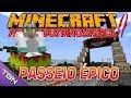 Minecraft  Parque dos Dinossauros - Temp 2 - Ep 7 - PASSEIO ÉPICO