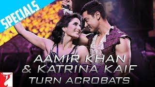 Aamir Khan & Katrina Kaif Turn Acrobats - Dhoom:3