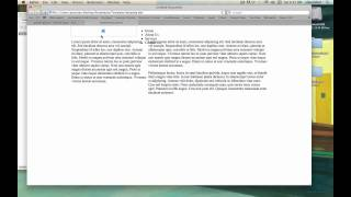 Creating a HTML5 website with template using Dreamweaver CS5 Tutorial - 3