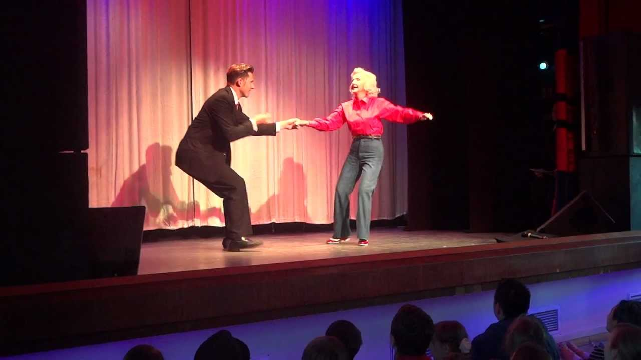 88 Year Old Swing Dancer Cuts a Mean Rug!