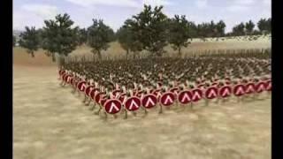 La batalla de las Term�pilas