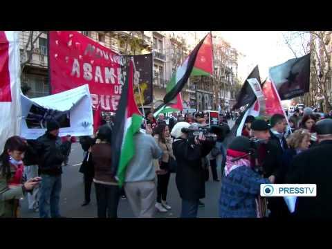 Argentine activists file lawsuit against (Israel) over Gaza attack  9/20/14