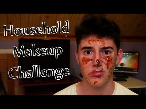 Household Makeup Challenge