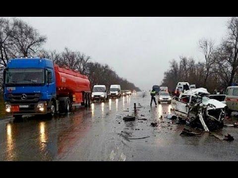 Видео подборка аварий на дорогах