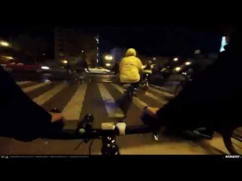 VIDEOCLIP Masa Critica Bucuresti - Octombrie 2015 (Bucharest Critical Mass)