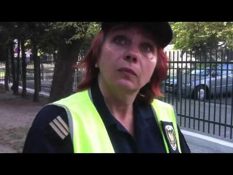 Obywatel-rowerzysta kontra straż miejska