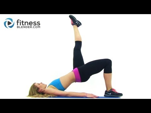 At Home Hamstring Workout Video - Hamstring Exercises with No Equipment