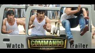 Movie Commando Action Scenes