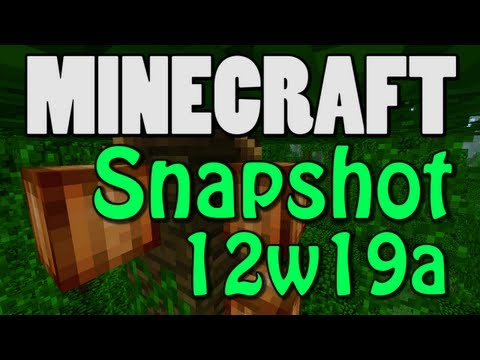 Minecraft Snapshot 12w19a (COCOA PLANTS! LARGE BIOMES!)