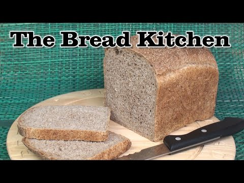 How to Make A Light Whole Wheat Loaf in The Bread Kitchen