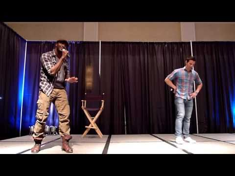 Aldis Hodge &quot;calls out&quot; Matt Cohen at the 2010 SPN Chicago Convention