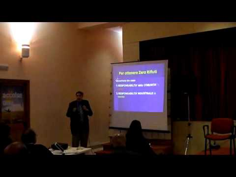 """Paul Connett in Calabria - """"Rifiuti zero"""" - Vibo Marina 18-01-2011 - 2/4"""