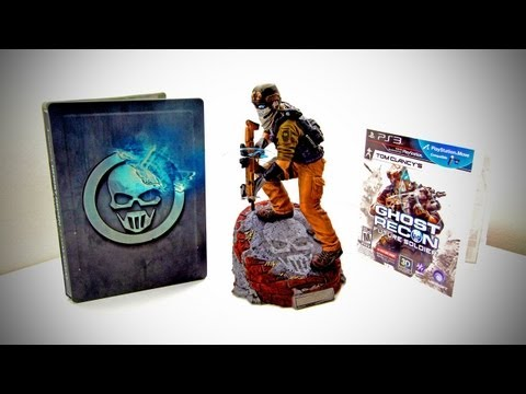 Ghost Recon Future Soldier Limited Edition Unboxing