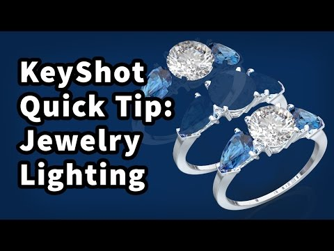 KeyShot Quick Tip: Lighting Jewelry