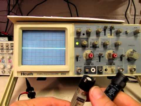 Basic 1X and 10X Oscilloscope Probe tutorial