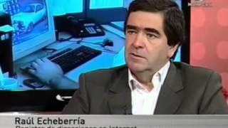 Entrevista al presidente de Lacnic (dominios de internet en LA y el Caribe) Raúl Echeberria