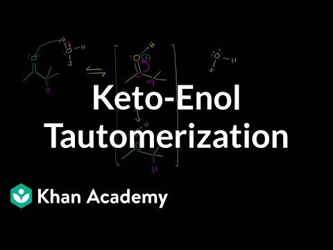 Keto Enol Tautomerization