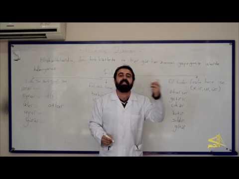 """تعلم اللغة التركية مع الأستاذ ابراهيم اسكي اوجاك الحلقة """"17"""""""