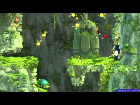 Rayman Origins [Part 02: Jibberish Jungle: Geyser Blowout/ Punching Plateaus]