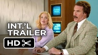 Anchorman 2: The Legend Continues UK Trailer (2013) - Will Ferrell Movie HD
