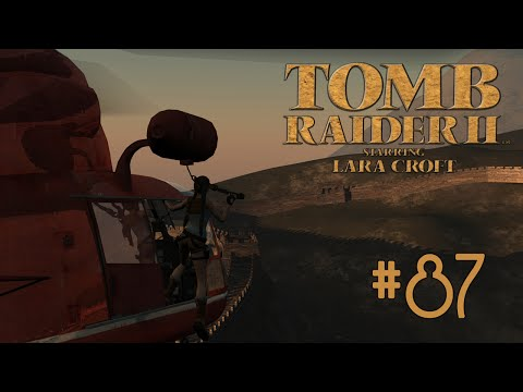 Candle Plays Tomb Raider II Part 87 - Trapped Underwater