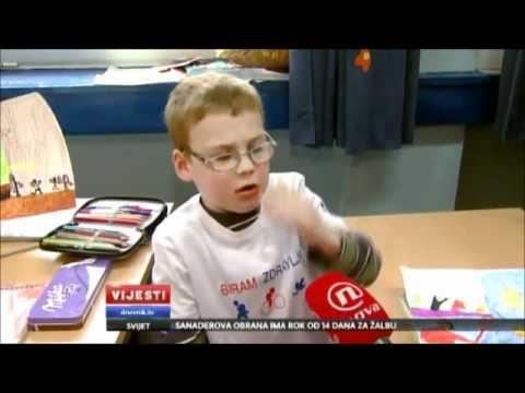 Tako mali a već filozof – priča kako mu se neda na karate