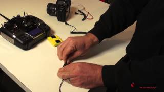 Quadrocopter Tutorial - Canon 5dMk2 Shutter Switch