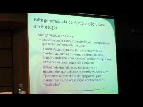 Conferência (R)Evolucionar Portugal Artur Silva