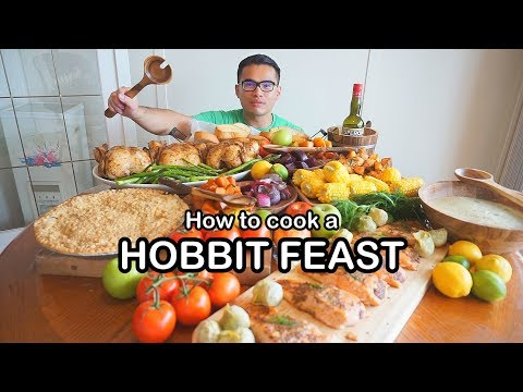 How to cook up a HOBBIT FEAST