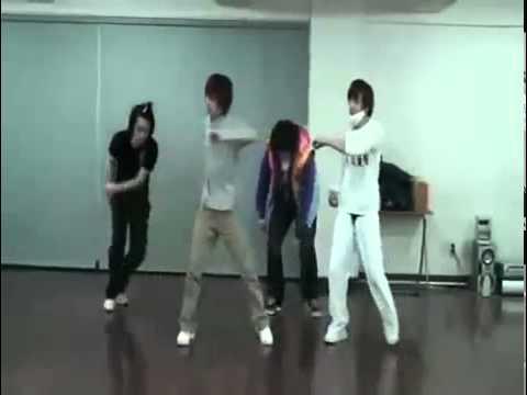 SUPER JUNIOR; Dance Battle Practice; Eunhyuk, Sungmin, Shindong, Leeteuk