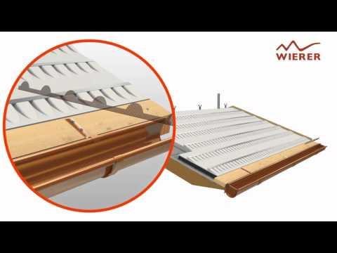 Wierer - Stratigrafia Tetto