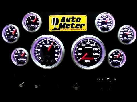 Auto Meter Elite Series Gauges- In HD!
