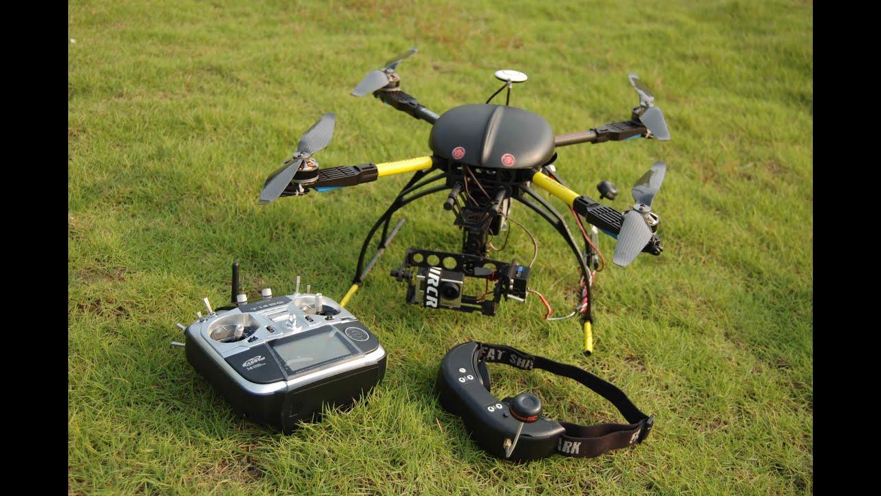 Квадрокоптеры с большим радиусом действия своими руками