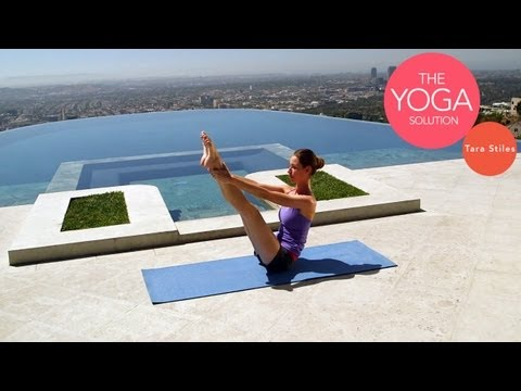 Slim Waist Yoga Routine | The Yoga Solution With Tara Stiles