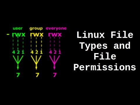 Linux File Types and File Permissions - UCTfabOKD7Yty6sDF4POBVqA